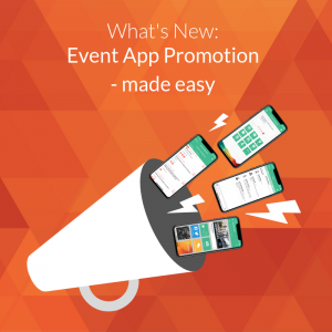 Event App Promotion Made easy - Conference Compass