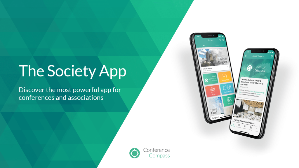 Society App brochure cover